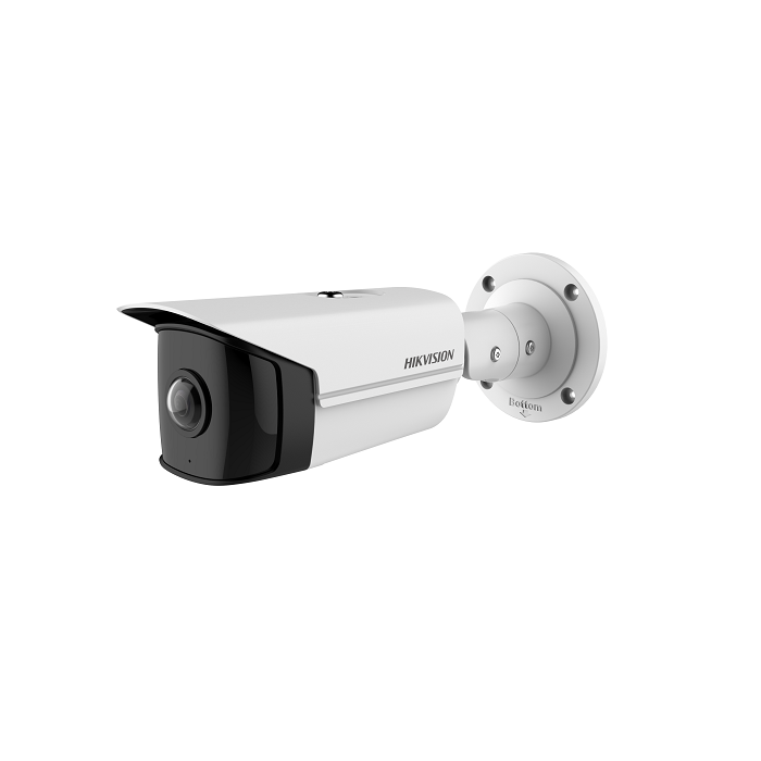 4MP Hikvision DS-2CD2T45G0P-I 1.68mm 180° Ultra-Wide Angle IP Bullet Camera