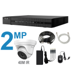 16 Channel HiLook DVR Kit with 2MP 40m IR CCTV Cameras