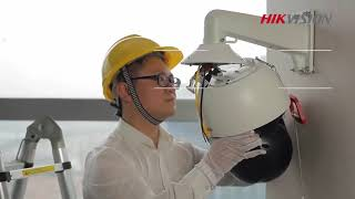How to Install a Hikvision 8 inch PTZ Camera