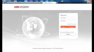 How to add Hikvision devices into Hik-Connect via a web browser